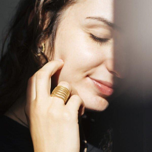 Mir Six Ring Gold Lady