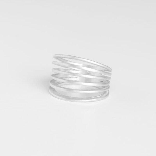 Mir Six Ring Silver