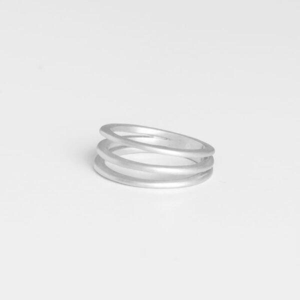 Mir Triple Ring Silver