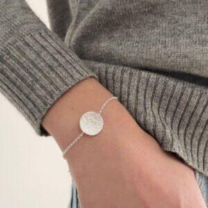 Moon Bracelet Silver Lady