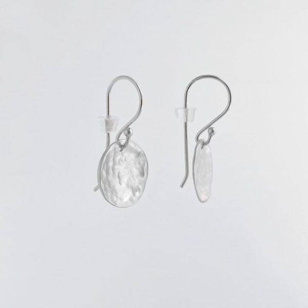 Moon Hippies Earrings Silver