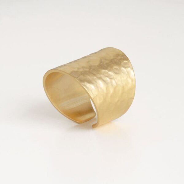 Moon Open Ring Gold