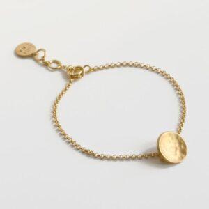 Moon S Bracelet gold
