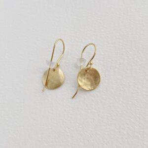 Moon S Hippies Earrings Gold