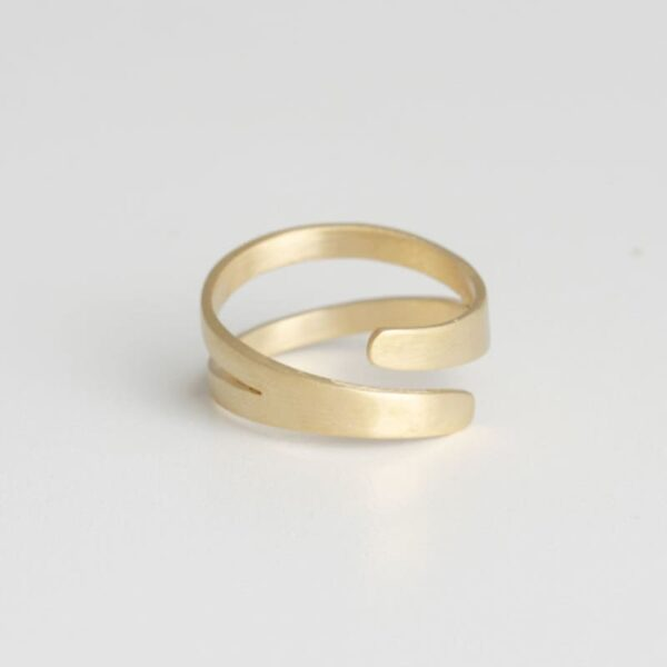 Nina Double Ring Gold