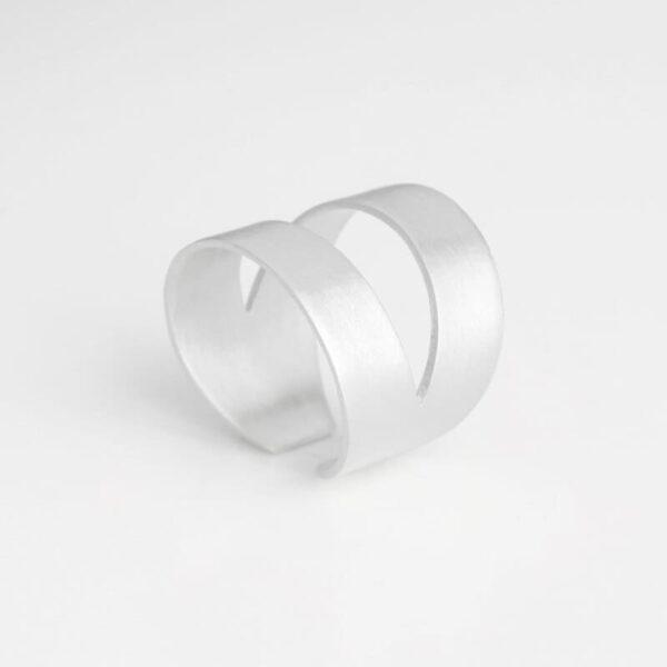 Nina two parts ring silver