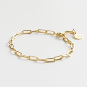 Rock and Soul Chain Bracelet Gold
