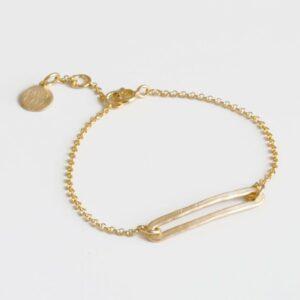 Rock and Soul M Bracelet Gold