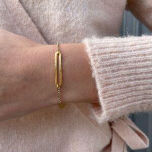 Rock and Soul M Bracelet Gold Lady