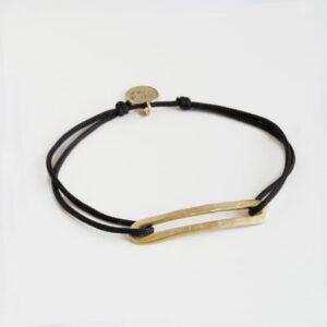 Rock and Soul M Nylon Bracelet Gold