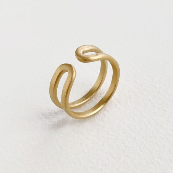 Rock and Soul Ring Gold
