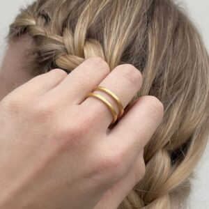 Rock and Soul Ring Gold Lady