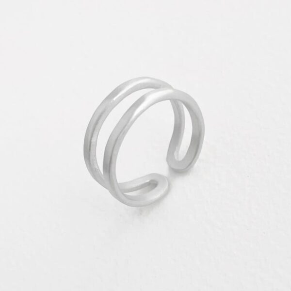 Rock and Soul Ring Silver