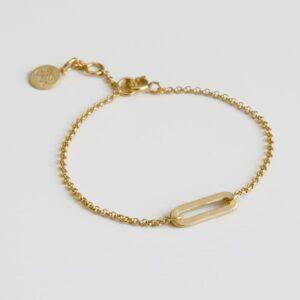 Rock and Soul S Bracelet Gold