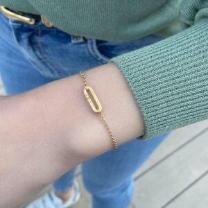 Rock and Soul S Bracelet Gold Lady