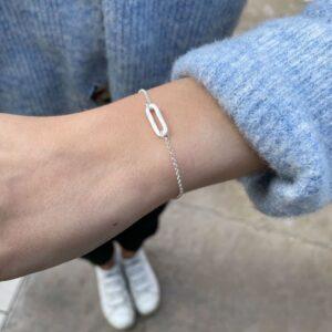 Rock and Soul S Bracelet Silver Lady