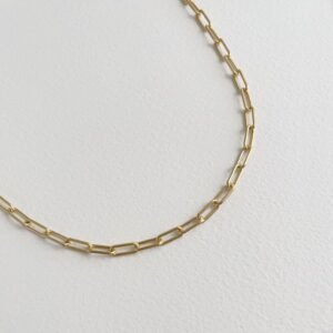 Rock and Soul chain necklace Gold