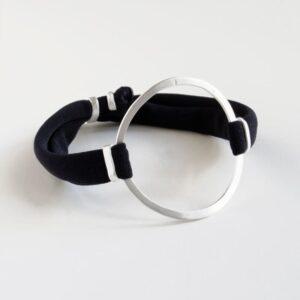 Sandra Circle Bracelet Silver
