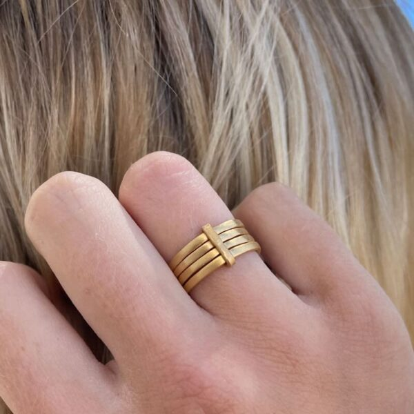 Sophie 4Mix Ring Gold lady