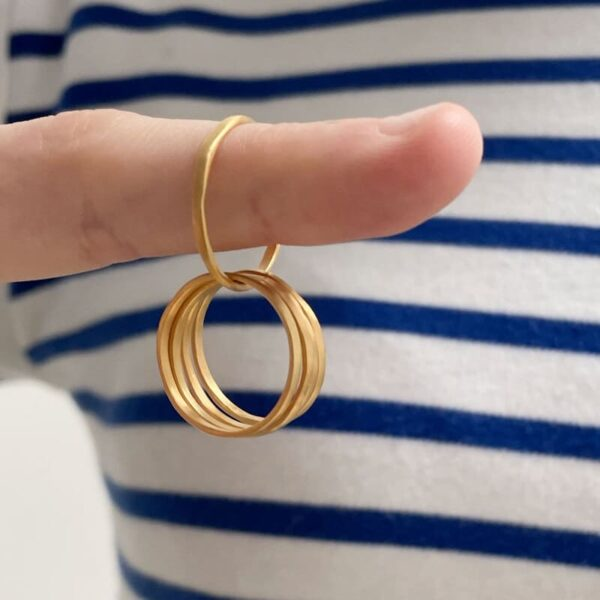 Sophie 5Twin Ring Gold lady