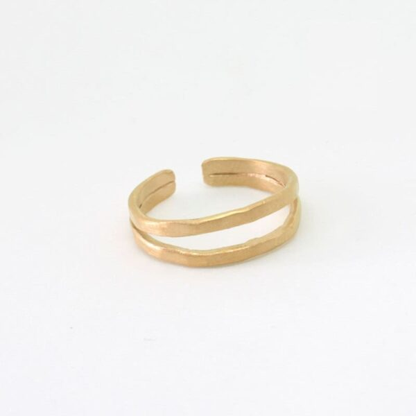 Sophie Double Ring Gold