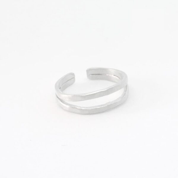 Sophie Double Ring Silver