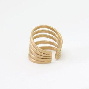Sophie Fivefold Ring Gold