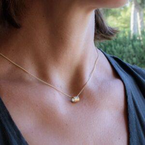 Sophie Triple Pendant Gold