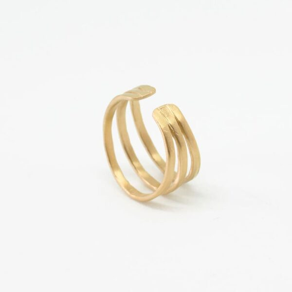 Sophie Triple Ring Gold
