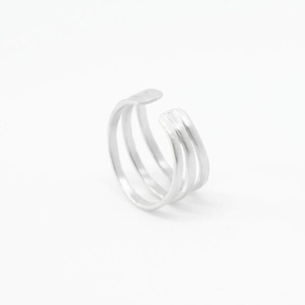 Sophie Triple Ring Silver