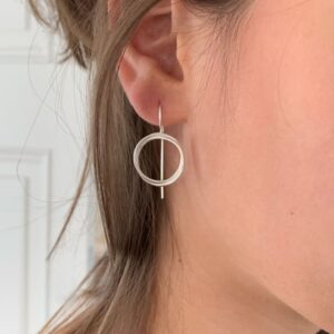 Sophie Twin M Hippies Earrings Silver Lady