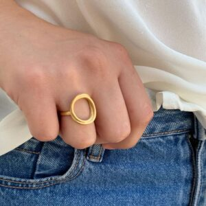 Sophie Twin Nicola Ring Gold Lady