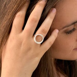 Sophie Twin Nicola Ring Silver Lady