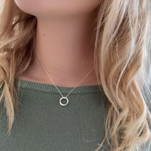 Sophie Twin s Pendant silver lady