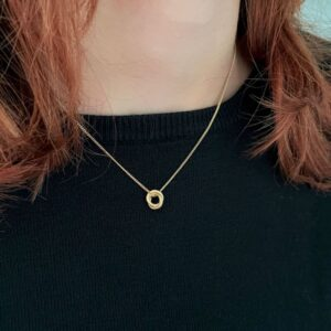 Sophie Twin xs Pendant Gold lady