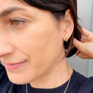 Sophie double Earrings gold Lady