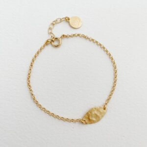 Spring Moon Bracelet gold