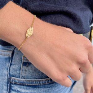 Spring Moon Bracelet gold lady