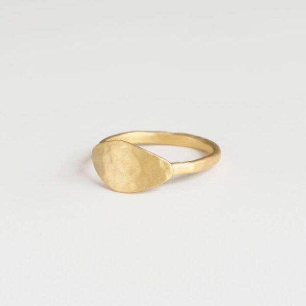 Spring Moon Ring Gold