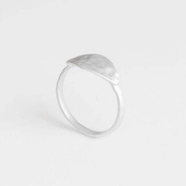 Spring Moon Ring Silver