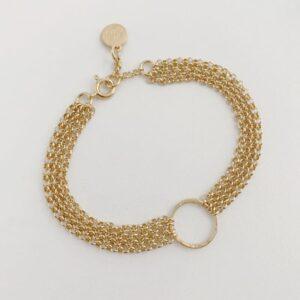 Storm Bracelet Gold