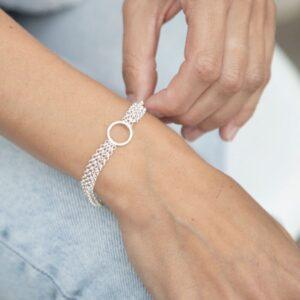 Storm Bracelet Silver Lady