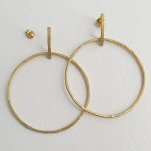 Twin Along XL earrings gold