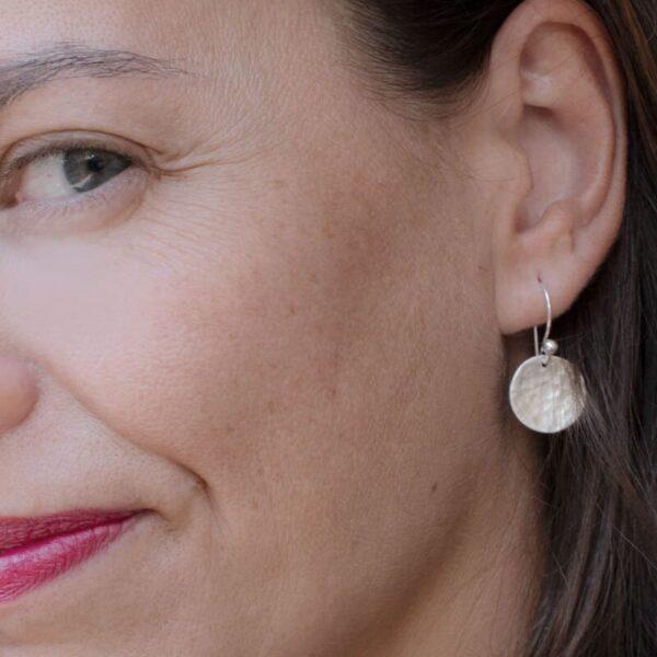 moon Hippies earrings silver lady