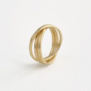 sophie 3twin ring gold