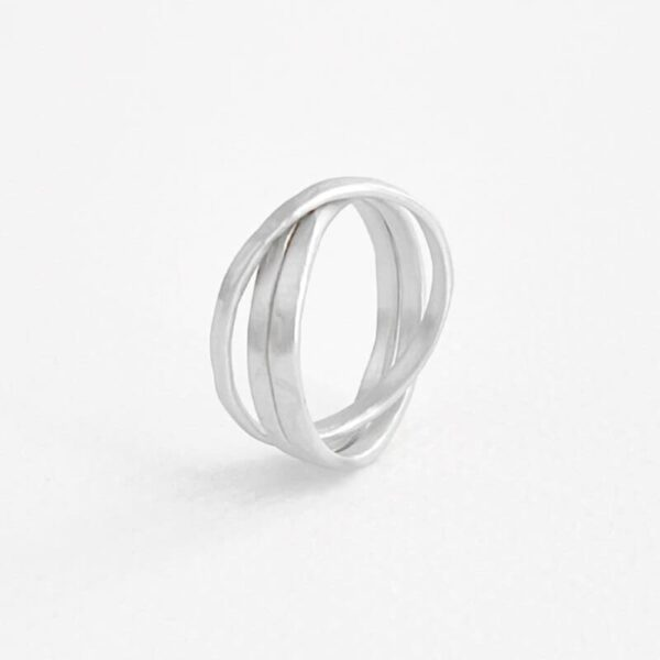 sophie 3twin ring silver