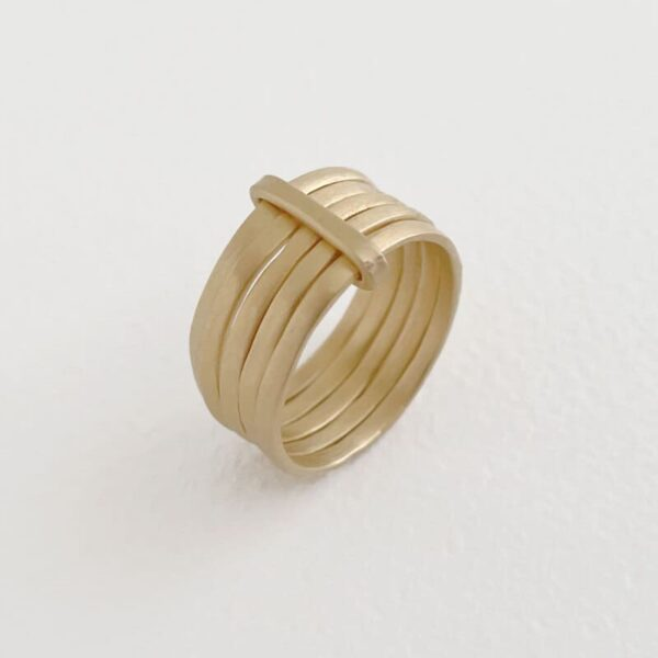 sophie 5mix ring gold