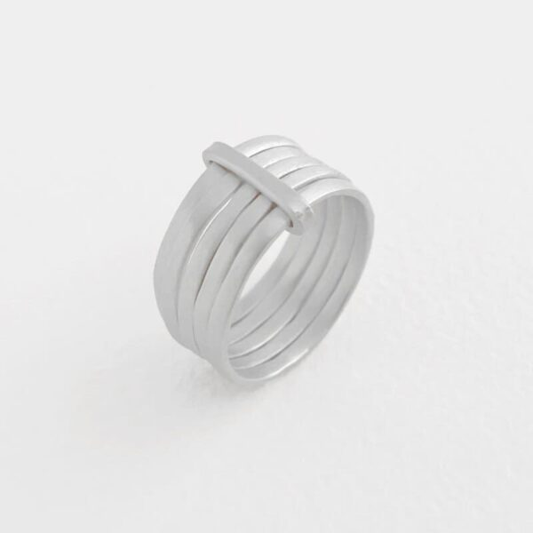 sophie 5mix ring silver