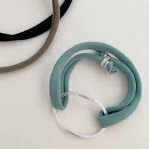 Justine Colour bracelet silver mint