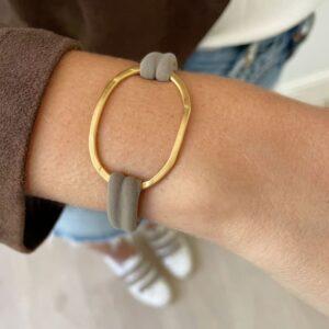 Justine Colour bracelet taupe lady